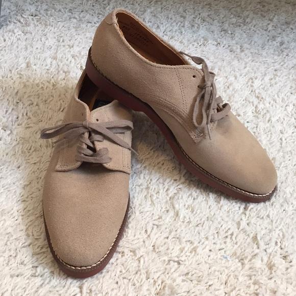 Shoes | Lands End Mens Tan Suede Shoes